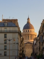 Pantheon at Golden Hour, Paris